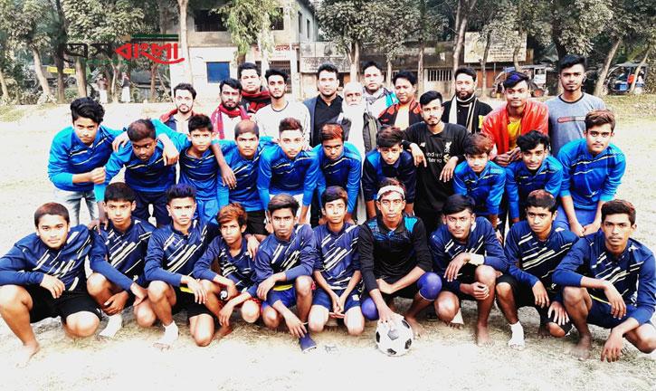 প্রগতি ক্লাবের প্রীতি ফুটবল ম্যাচ অনুষ্ঠিত