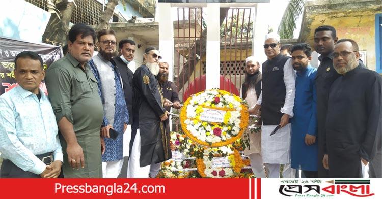 কাশিপুর মধ্যনরসিপুরে শহীদদের প্রতি সাইফউল্লাহ বাদলের শ্রদ্ধা